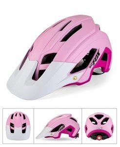 Casque de vélo Batfox / Beaver Beaver Casque de vélo de montagne intégré Helmet de cyclisme F692B011 PC + EPS AQHA002