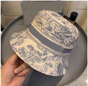 2021 الرجال مصمم دلو قبعة الملونة المطبوعة رعاة البقر المرأة مصممي الشمس القبعات في الهواء الطلق جودة عالية الفاخرة sunhat