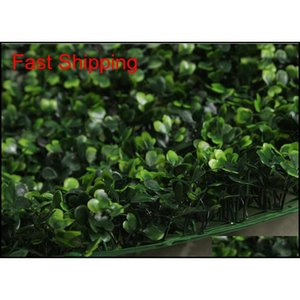 40x60cm Green Grass Artificial Turf Plants Garden Ornament Plastic Lawns Carpet Wall Balcony Fence qylMhv hairclippersshop