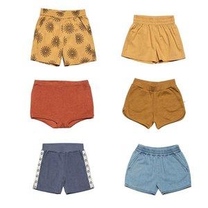 Enkelibb New Wynken Kids Verano Hawaii Shorts Boys Girls DISEÑO DISEÑO Sun impresión Verano Bottoms Niño Unisex Tintos elegantes 210225