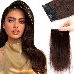 Mrshair Mini Piec Clip In Hu Extensions For Short Add Top Side Volume 10-30cm NonRemy Natural Hair