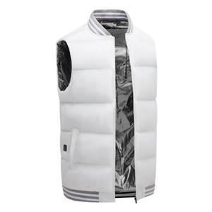 WENYUJH Women Usb Heated Vest Men Winter Warm Body Clothes Thermal Vest Snowy Day Top Charging Intelligent Outdoor Work Jacket