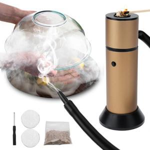 Tools & Accessories BORUIT Food Cold Smoke Generator Burn Smokehouse Cooking Portable Molecular Cuisine Smoking Gun For BBQ Grill Infus