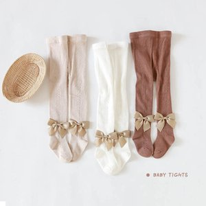 Baby Pantyhose Girls Pantyhose Cotton Bowknot Princess Skinny Tights Kids Leggings Baby Accessories Baby Girl Clothes 1-6Y B4156