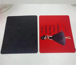 Wireless Customized Heart Shape Mouse Pad Blank Heat transfer Computer Pad Sublimation Tablet Selfie Stick EWB4943