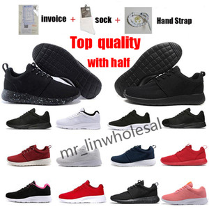 Tanjun 3.0 Zapatillas para correr Top Quality Fish Fashion For Hombres Mujeres Negro Blanco Blanco Hombres zapatos deportivos Zapatos al aire libre Tamaño 36-45 con la mitad