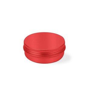 2 oz 60 ml 60g mehrfarbige runde aluminiumdosen schraube deckel metall tins gläser leere rutschfeste rutschencontainer jllmmz outbag2007