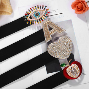 Hot Selling Fashion Creative Diamond Letter a Belt Street Show Versatile Love Waist Chain Belt