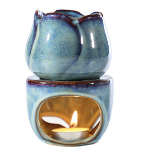 Wax Melt Burners Essential Aromatherapy Aroma Burner Ceramic Oil Candle Diffuser Tealight Tart Wax Burner Home Bedroom Decor