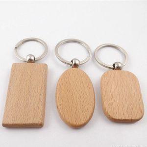 Beech Wood Keychain Banco Pingente Cinzeladura Diy Keychains Decoração Bagagem Chave Anel Fivela Criativo Aniversário Presente MMA133