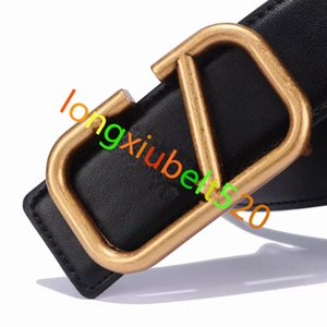 2020 Marca de moda Cinturão dos homens - Cinto de Cinto de Cobre Pure Curtity Cinto Masculino