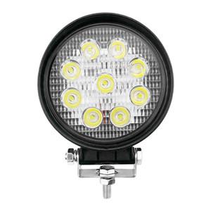 27W 6000K Lampe blanche hors route Super lumineux LED LED Lumière de travail pour Jeep Grand Cherokee WK2 XJ SUV Truck VTT Square Square Eclairage