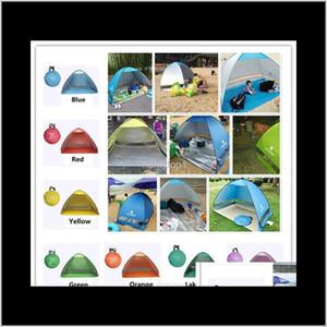 Simpletents Easy Care Tents Открытый Кемпинг Аксессуары для 2-3 Люди УФ Защитная палатка для пляжного путешествия Газон 20 шт. / Лот Красочный MDHXJ