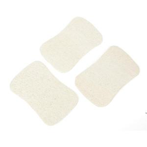 3 قطع مجموعة الطبيعية loofah غسل الصحون القماش فرك سادة صحن وعاء وعاء سهلة لتنظيف الغسيل الإسفنج المطبخ نظيفة فرش فرك الوسادة DWF5448