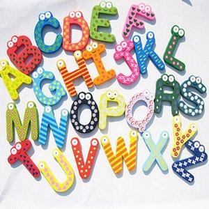 Kühlschrank Kinder Baby Magnete Holz Alphabet Holzbrief Cartoon Kühlschrankmagnete Pädagogische Lernen Studie Cartoon Spielzeug Unixhgcg4