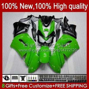 Bodys Kit For KAWASAKI NINJA 650R ER6 F 650 R ER 6 F ER6F 06 07 08 29HC.116 stock green 650R-ER6F ER-6F ER 6F 2006 2007 2008 Full Fairings