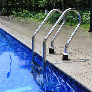 NEW Stainless Steel Swimming Pool Pedal Replacement Ladder Rung Steps Anti Slip Accessories