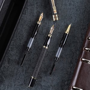 Fountain Dragon Clip Three Nibs Caligraphy Pen Set Office Gift for Students Stationery Financial Business Art Supplies dff8125