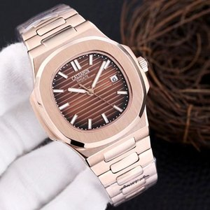 caijiamin-2021 U1 factory mens automatic mechanical watches rose strap Brown gold watch stainless waterproof wristwatch montre de luxe lady watches