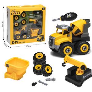 Car Nut Disassembly Loading Unloading Engineering Truck Excavator Bulldozer Child Screw Boy Creative Tool Education Toy Model