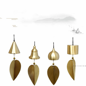 Pure Coppers Wind Chimes Ornament Japanese Style Creative Handmade Home Balcony Bedroom Bells Car Pendant Birthday Gift FWE4741