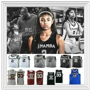 NCAA Gianna Maria Onore 2 Gigi UConn Huskies College Lower Merion Mamba 33 Bryant High School Memorial Retired Basketball Jerseys cheap