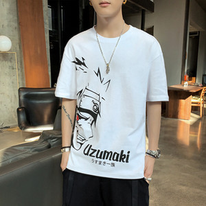 Luxury T-shirts Cotton Short 2021 Half Sleeve T-shirt Men's Base Shirt Summer Solid White T-shirt