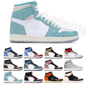 Top Quality 2021 1 High OG Basketball Shoes Game Royal Banned Shadow Bred Red Blue Toe Men 1s Shattered Backboard designer Sneakers 36-47 Y29