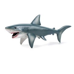 Simulation Shark Action Figures Lifelike Education Kids Children Sea Animal Ocean Model Gift Cute Collection Toys