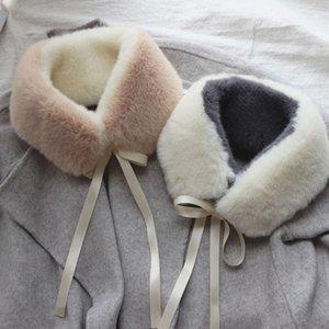 Mink like scarf for women in winter
