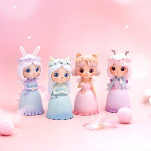 ins pink girl heart resin blind box hand-made car decoration cake decoration creative gift