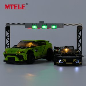MTELE Brand LED Light Up Kit For Urus ST-X & Huracan Super Trofeo EVO Compatible With 76899 C0312