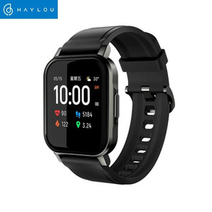 Haylou Solar Mini Haylou LS02 Smart Watch,IP68 Waterproof ,12 Sport Models,Bluetooth 5.0 Sport Heart Rate Monito,English Version Xiaomi