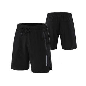 Мужчины бегают 2 в 1 шорты бегагинг спортзал фитнес тренировок быстрый сухой пляж короткий мужчина тренировки летние спортивные штаны с карманом молнии