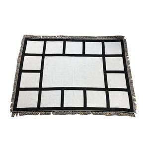 Panel de sublimación Manta blanca Mantas en blanco para la alfombra de sublimación Mantas cuadradas para sublimación Theramal Transfer Printing Rug GWF5503