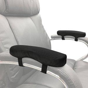 1 stück Comfy Stühle Armlehne Pads Covers für Bürostühle Rollstuhlschaumer Ellenbogenkissen Unterarm Druck Reliefarm Rest Cover