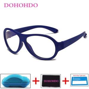 New Baby Kids Glasses Frame Blue Light Blocking Children Computer Flexible Eyeglasses Optical Clear Lens UV400 Anti Glare Filter