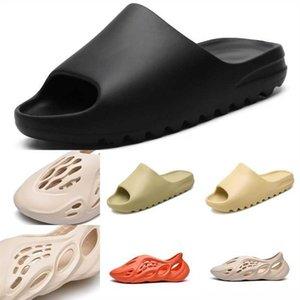 Dmekm West Scarpe Kanye Kanye Designer Mens Новое Прибытие Сандалии Пена Бегун Женщины Kanye Тапочки для засорящих Smasegirls Slides Tailper EUR Обувь1