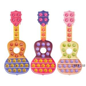 Tie-Dye Push Pop It Fidget Toy Color Watermark Push Bubble Sensory Autism Striever Spreeze Sensory Juguete para niños FWD5492