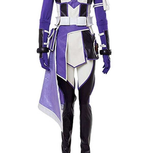 SAO Sword Art Online Fatal Bullet Zeliskam Cosplay Costume Halloween Dress Outfit