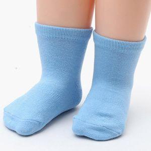 Toddler Kids baby Boys Girls Solid Non-Slip Socks Knitted Warm Socks Room 6pc Leg Floor Protectors Covers Fashion Mid#45