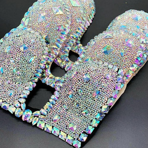 2021 Venus Vacation Diamond New Bikini Set Bling Stones Sexy Women Swimwear Rhinestone Bathing Suit Jacket Mature Lady Bras Swim
