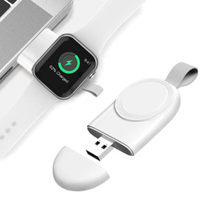 Portable Wireless Charger for Watch SE 6 5 4 Charging Dock Station USB Charger Cable for Watch Series 6 5 4 3 2 1