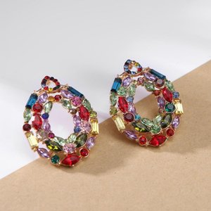 Stud Ztech Style 4 Color Earrings For Women Girls Brincos Fashion Jewelry Trendy Statement Vintage Accessories Pendientes