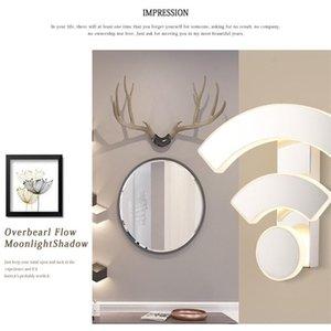 Wall Lamps WIFI Light Acrylic Sconce Lamp LED Modern Bedroom Bedside Creative Restaurant KTV El Aisle Corridor Lights