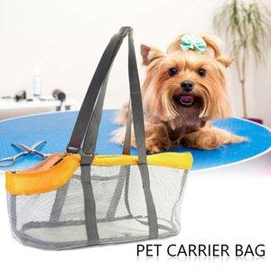 Собака Автомобильное сиденье Чехлы для домашних животных Складной Дышащий сетчатый мешок складной уходящей туристической кошки Tote для отдыха для кемпинга