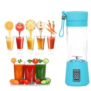 Portable Electric Fruit Juicer Cup Vegetable Citrus Blender Juice Extractor Ice Crusher with USB Connector Juice Extractor HWB11037