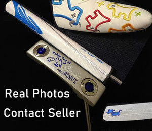 Great Quality New Model Silver Happy Dog Golf Putter de golf actuel Contacter le vendeur