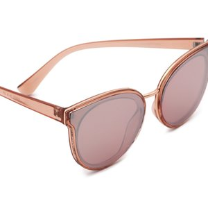 VIFF HP17183 Elegant Pink Gafas Del Sol Glass Manufacturer Sun Glass River Frame Shad Fashion Sunglass 2021