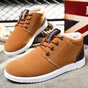 Mans Footwear Winter Boots For Men Super Warm Winter Shoes Fashion Snow Boots Plush Ankle Work Shoes Mens Snow Erkek Bot u4a5#